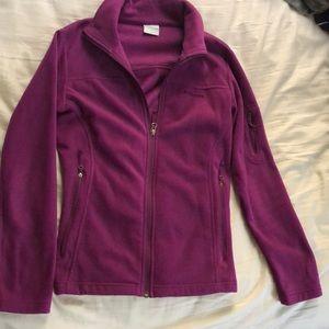 Magenta Columbia jacket